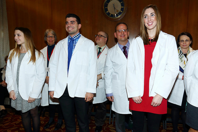 Physician Assistant White Coat Ceremony 2016