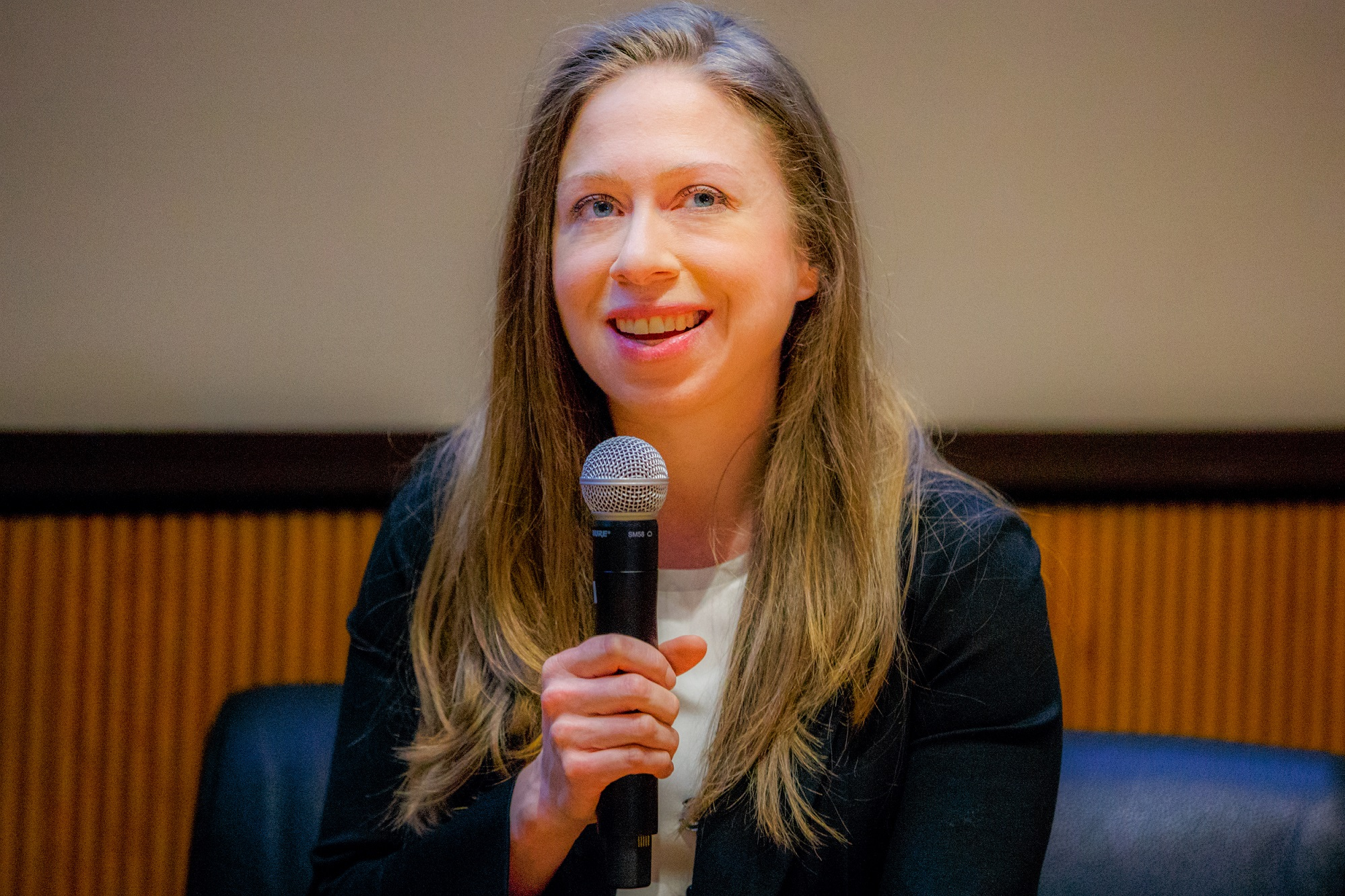 Chelsea Clinton Shares Her Insights On Public Health
