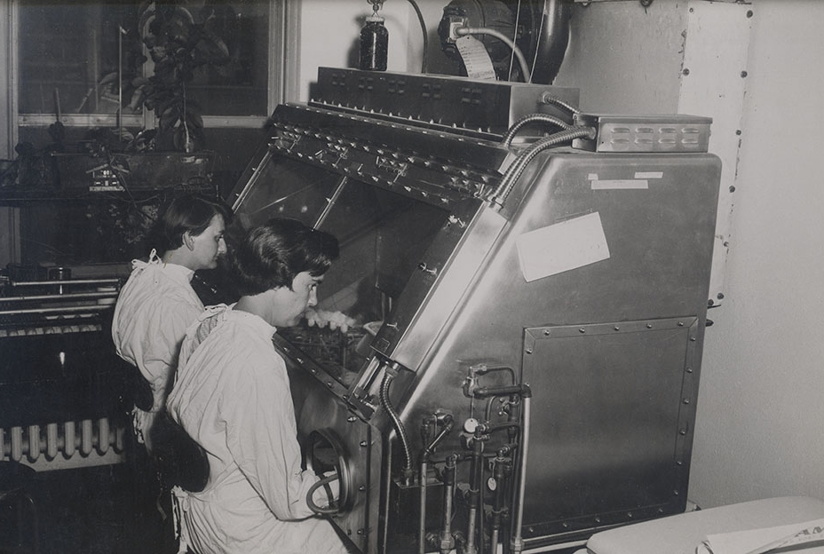 Robert McCune's tuberculosis research laboratory at NewYork-Presbyterian/Weill Cornell