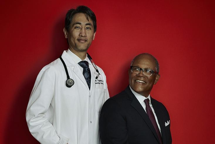 Dr. Scott Tagawa and Ty Williams