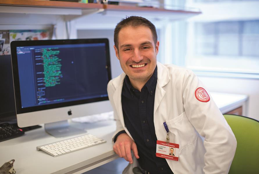 Dr. Alexander Perez. Photo credit: John Abbott
