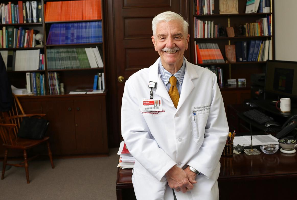 Dr. George Alexopoulos. Photo Credit: John Abbott