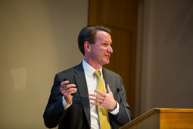 Dr. Norman Sharpless. Photo credit: Ashley Jones