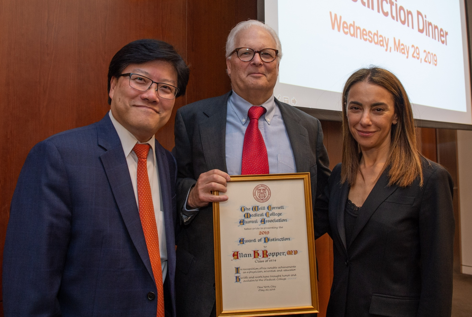Dr. Allan Ropper Wins Weill Cornell Medical College Alumni Award