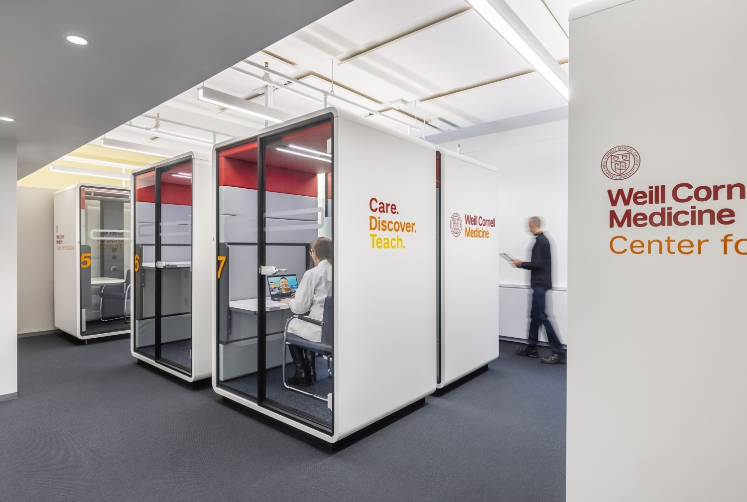 cubicles for telemedicine