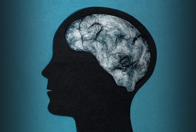brain fog illustration