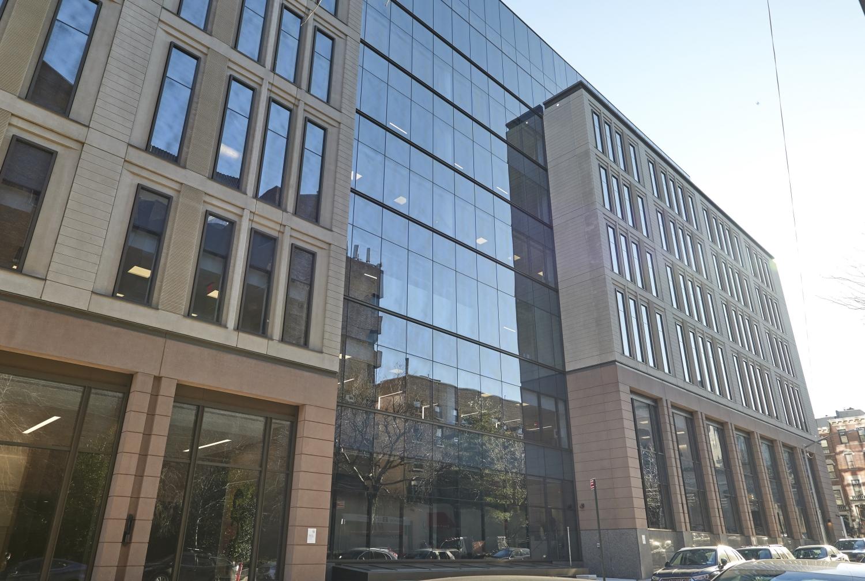 An exterior of a building