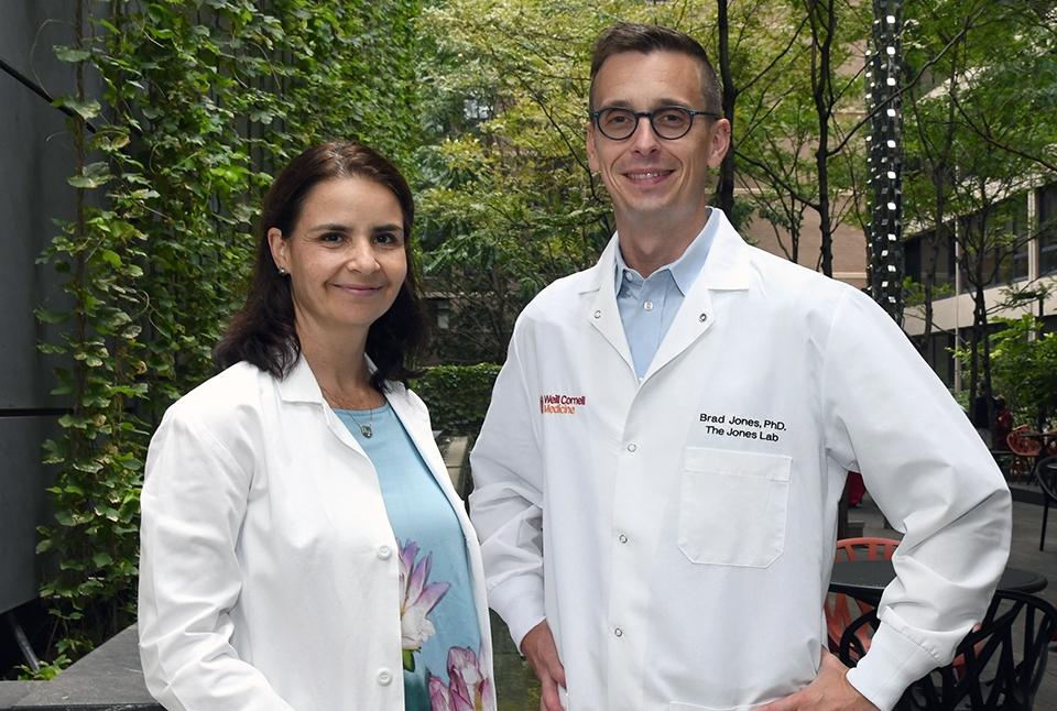 Dr. Marina Caskey and Dr. Brad Jones