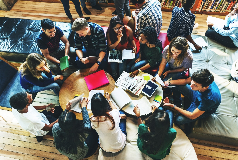 Students brainstorming. Photo credit: Shutterstock