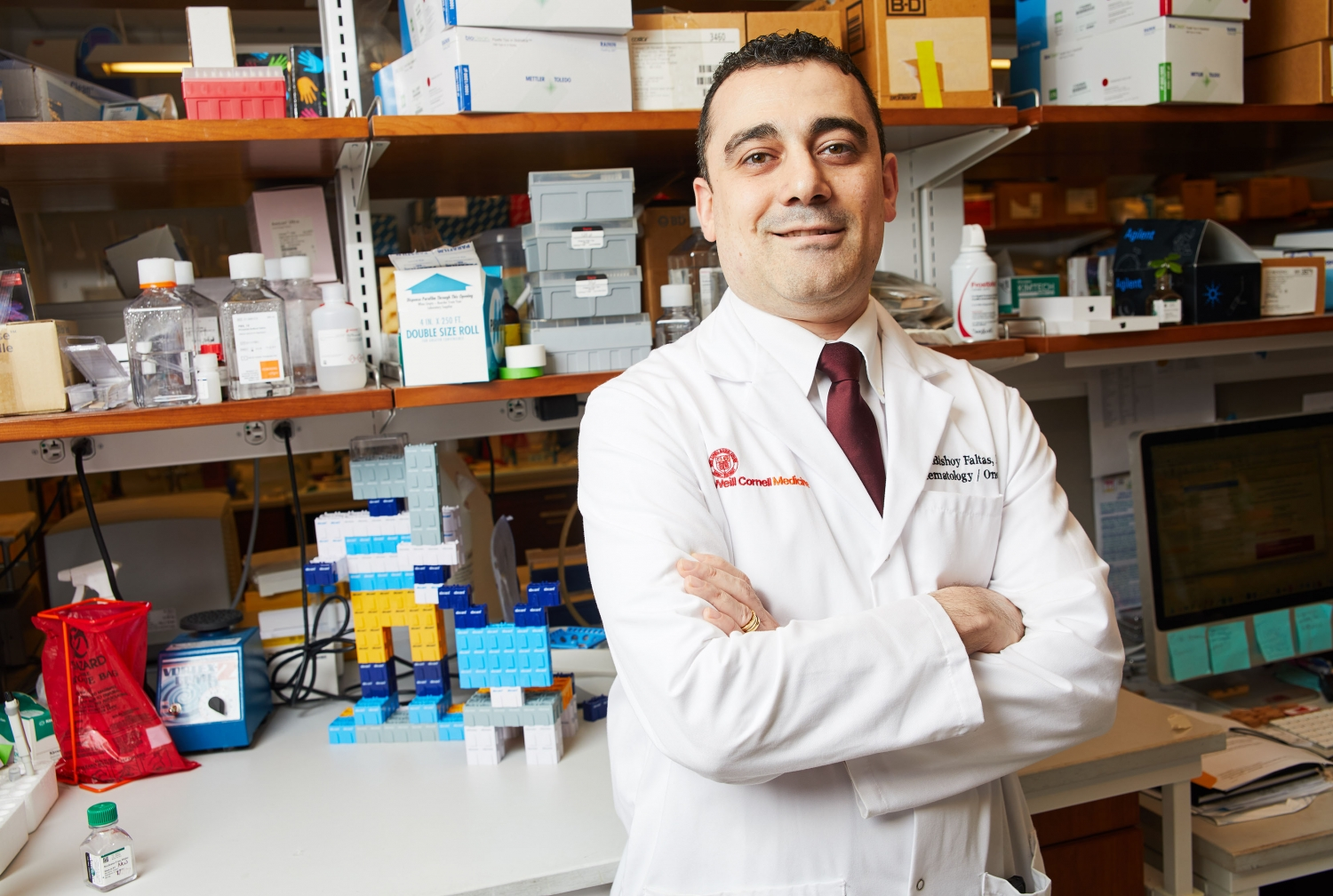 Dr. Bishoy Faltas. Photo credit: Travis Curry