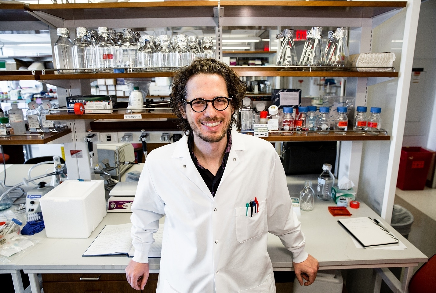 Dr. Dan Landau. Credit: Rene Perez