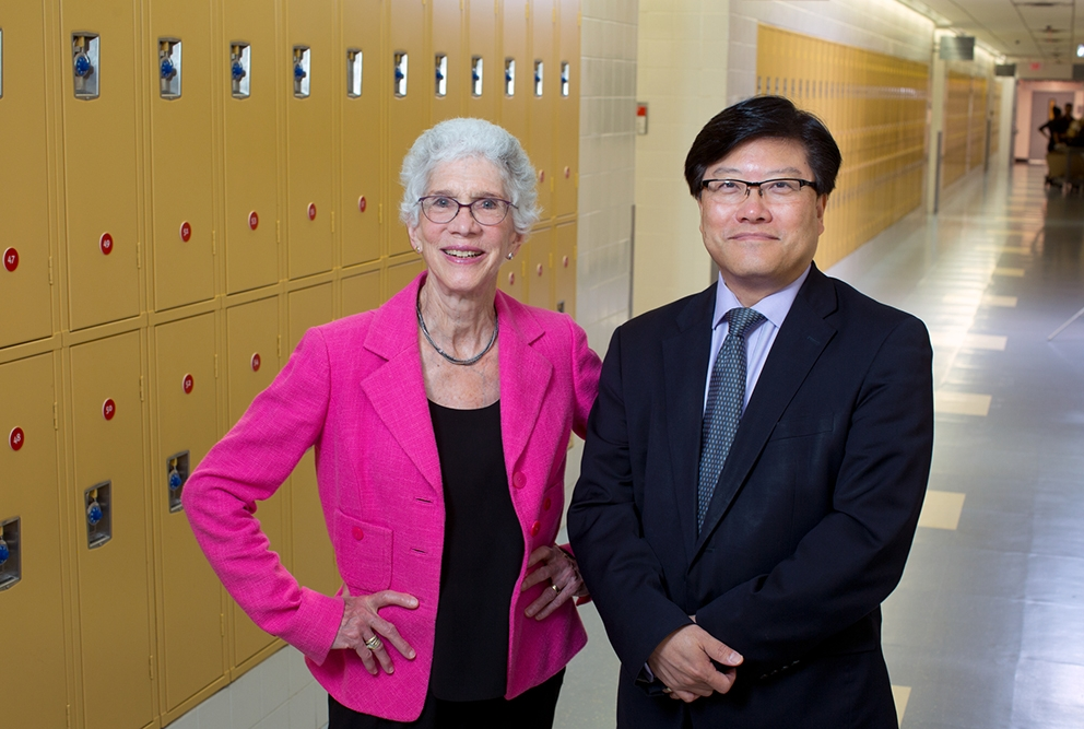 Barbara Friedman and Augustine Choi