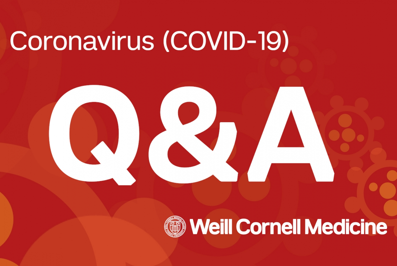 COVID-19 question and answer illustration