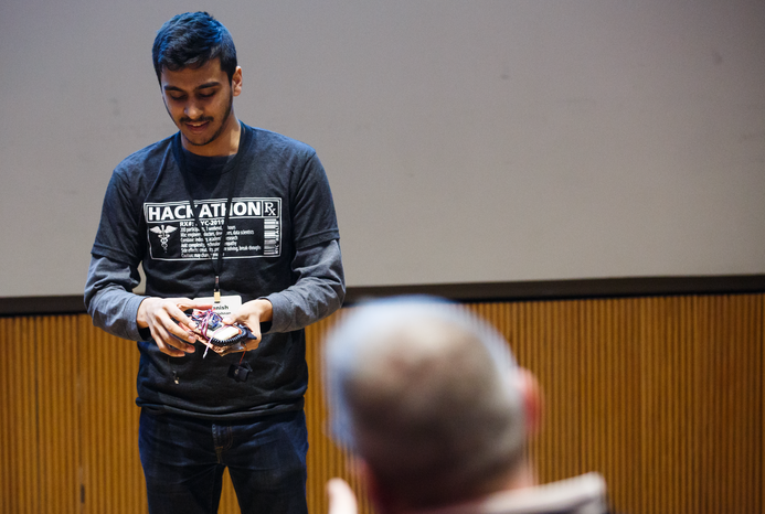 Diverse Teams Converge to Solve Healthcare Problems at Weekend Hackathon