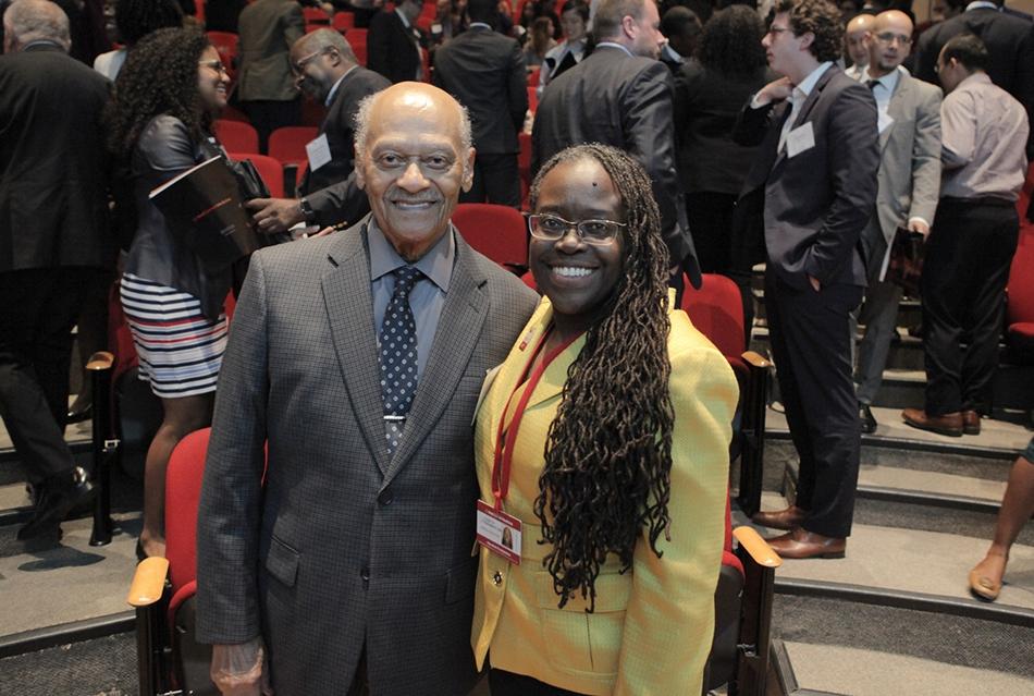 Dr. James Curtis and Dr. Elizabeth Wilson-Anstey