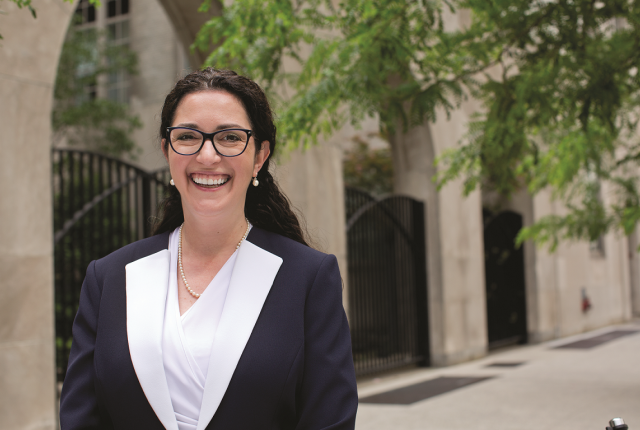 'Everyone mentor one': Dr. Ruth Gotian is leadingthe new Mentoring Academy. Photo credit: John Abbott.