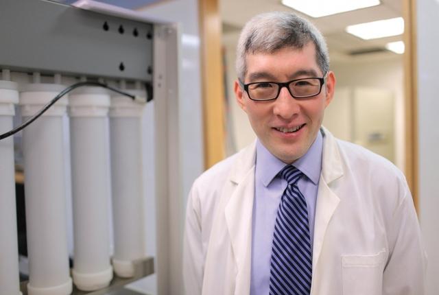 Dr. Francis Lee. Photo credit: John Abbott