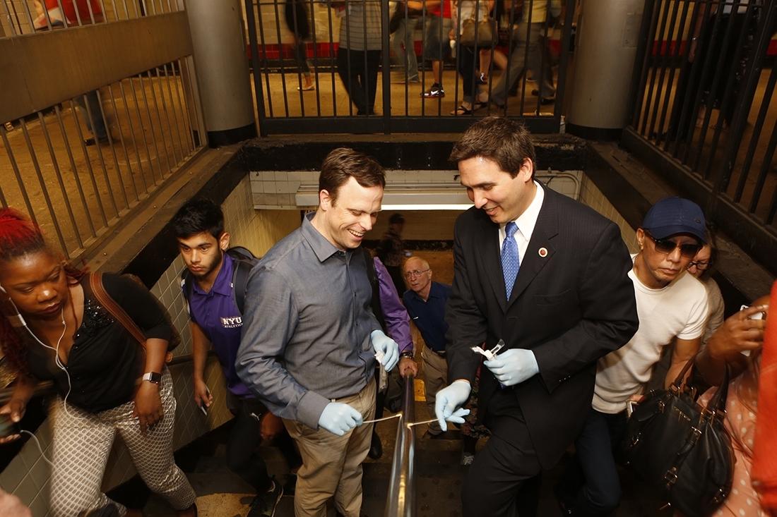 Dr. Chris Mason and Ben Kallos