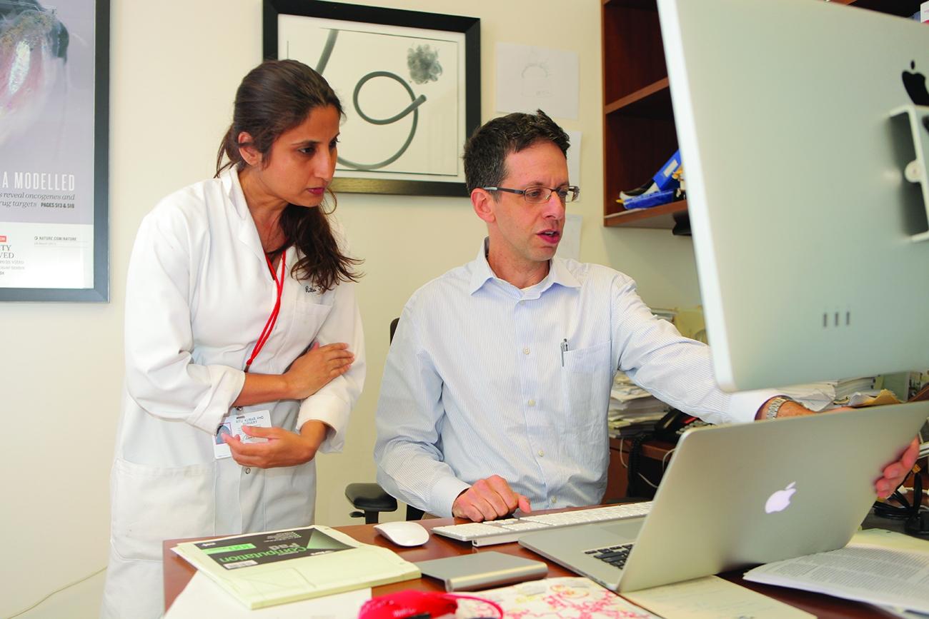 Drs. Yariv Houvras and Ritu Kumar