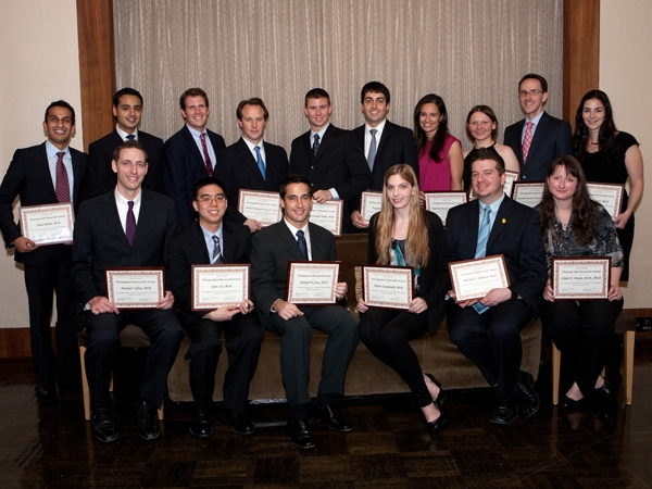 The 2011 Distinguished Housestaff Award recipients