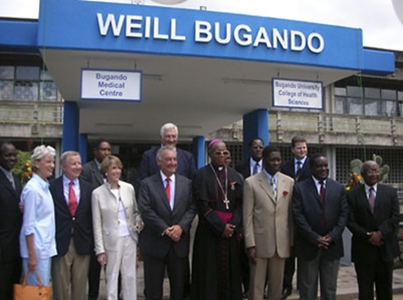 the Weill Bugando University College of Health Sciences in Tanzania