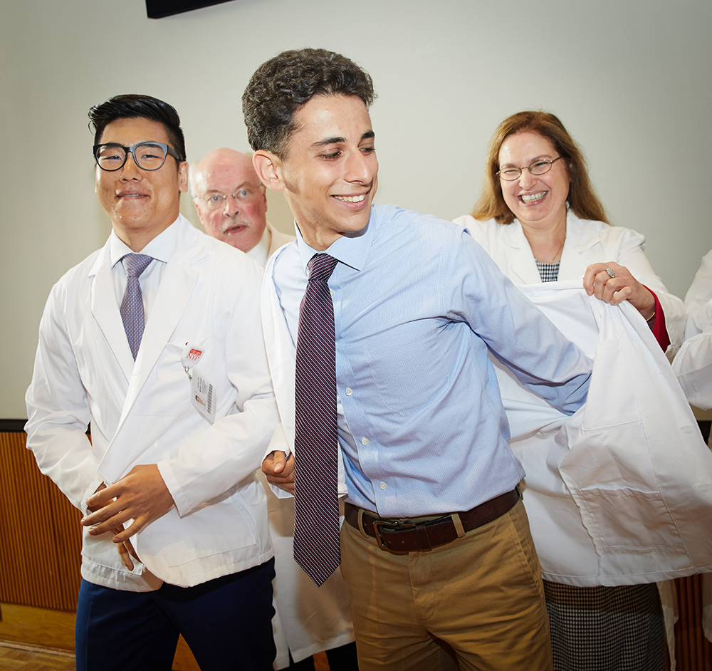 White Coat Ceremony Launches Students' Careers in Medicine ...