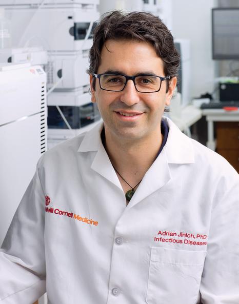 Dr. Adrian Jinich: Credit: John Abbott