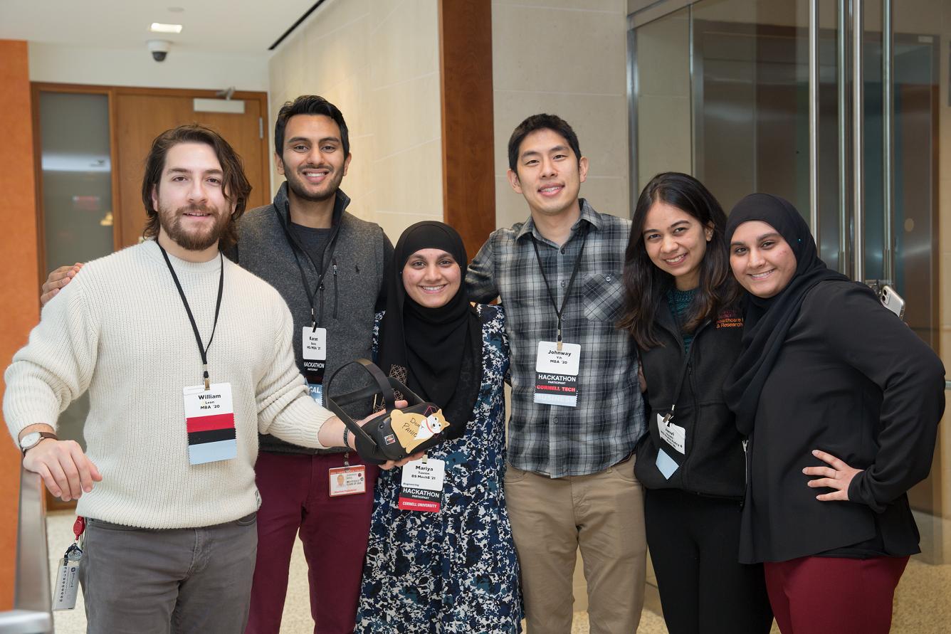 Teams gathered at 2020 Hackathon event