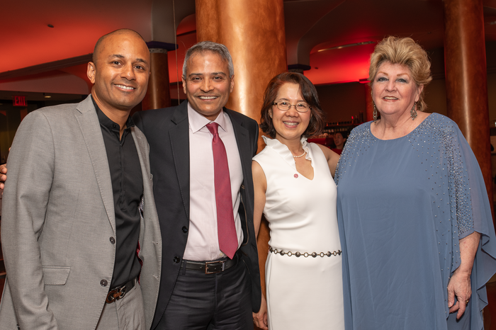 Andres Jimenez, Asim Hameedi, Linda Zhao and Mary Jane O'Connell.