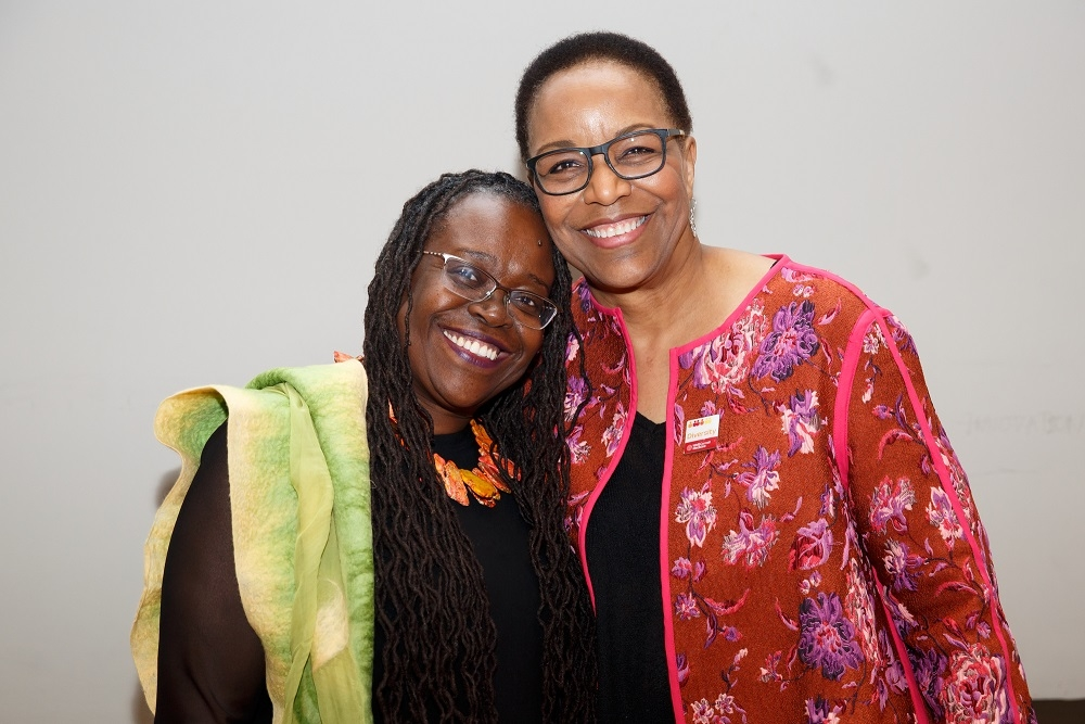 From left: Dr. Elizabeth Wilson-Anstey and Dr. Joan Y. Reede, dean for diversity and community partnership at Harvard Medical School.