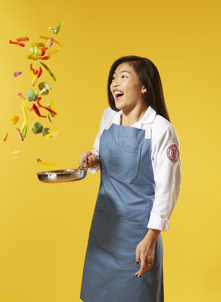 """Dora Chen '22 - """"I like to cook and bake. It helps with my mental health by allowing me to get focused on the flow of the activity and take a mental break from the stressors in my life."""""""