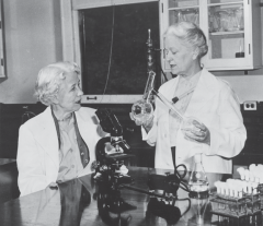 Drs. Elizabeth Hazen and Rachel Brown