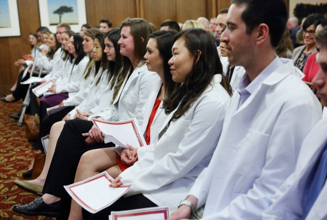 Physician Assistant White Coat Ceremony 2017