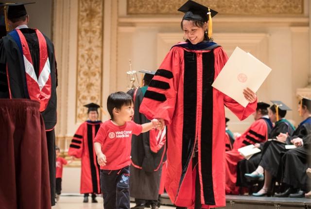 Weill Cornell Medicine Commencement 2017