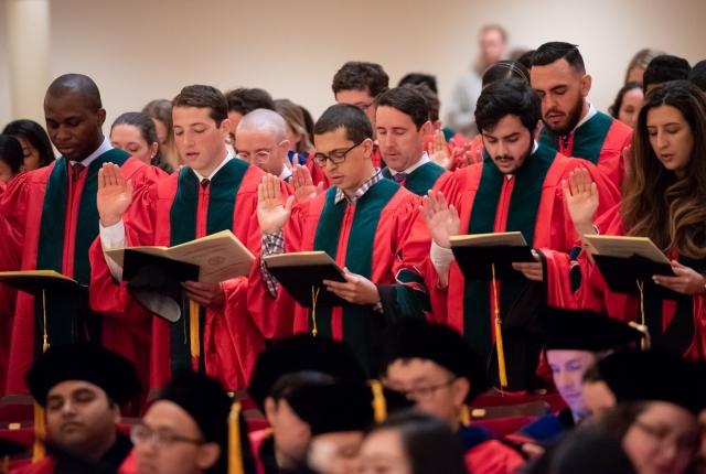 Weill Cornell Medicine Commencement 2018