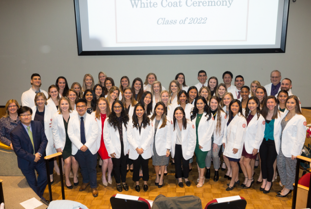 Physician Assistant class of 2022 group photo