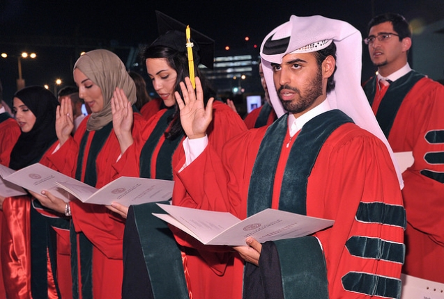WCMC Qatar Commencement 2015